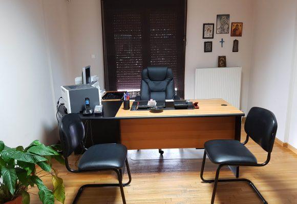 το γραφείο του μικροβιολόγου Ιωάννου Βασίλειου